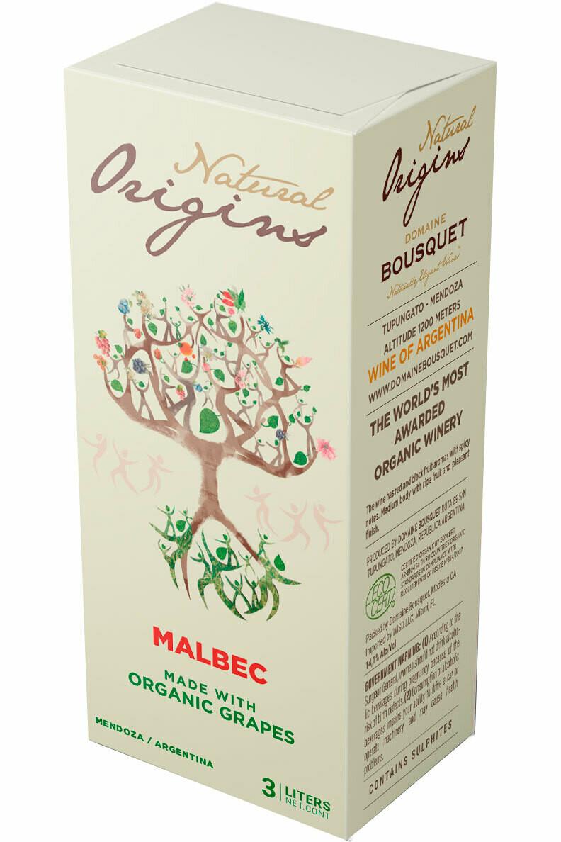Domaine Bousquet Malbec 3L BiB Natural Origins