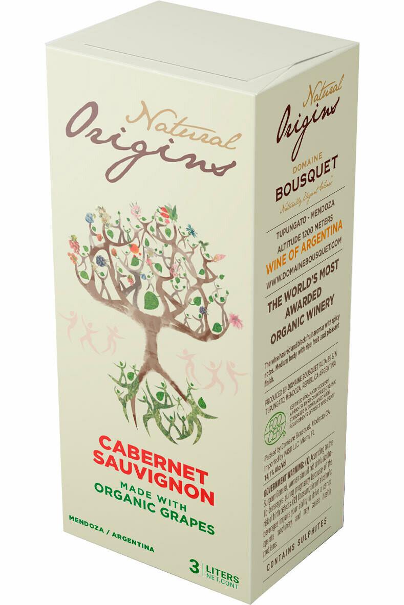 Domaine Bousquet Cabernet Sauvignon 3L BiB Natural Origins
