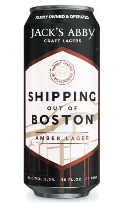 Jack's Abby Shipping Out of Boston Amber Lager