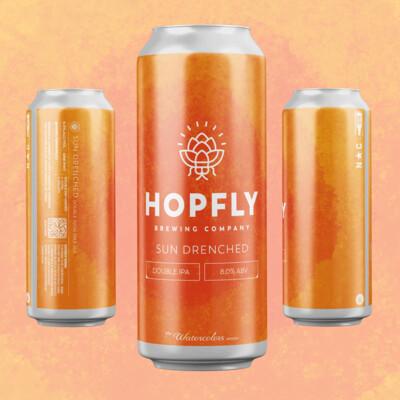 HopFly Sun Drenched DIPA
