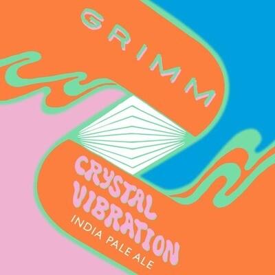 Grimm Crystal Vibration NE Hazy IPA