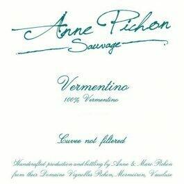 "Anne Pichon ""Sauvage"" Vermentino Non-Filtered Vaucluse IGP 2019"