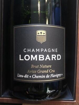 Lombard et Cie NV Avize Grand Cru Lieu-Dit Chemin de Flavigny Brut Nature Champagne