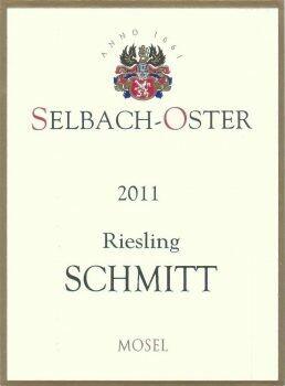 Selbach-Oster Zeltinger Schlossberg Riesling SCHMITT Auslese 2019