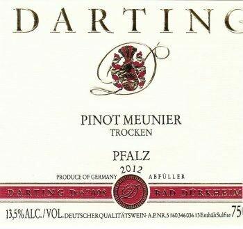 Weingut Darting Pinot Meunier 2017