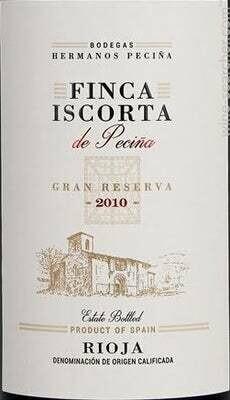 Hermanos Pecina Finca - Iscorta De Pecina Rioja Gran Reserva 2010