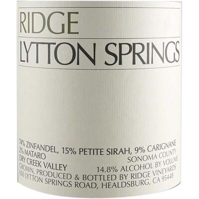 Ridge Lytton Springs 2018 3L