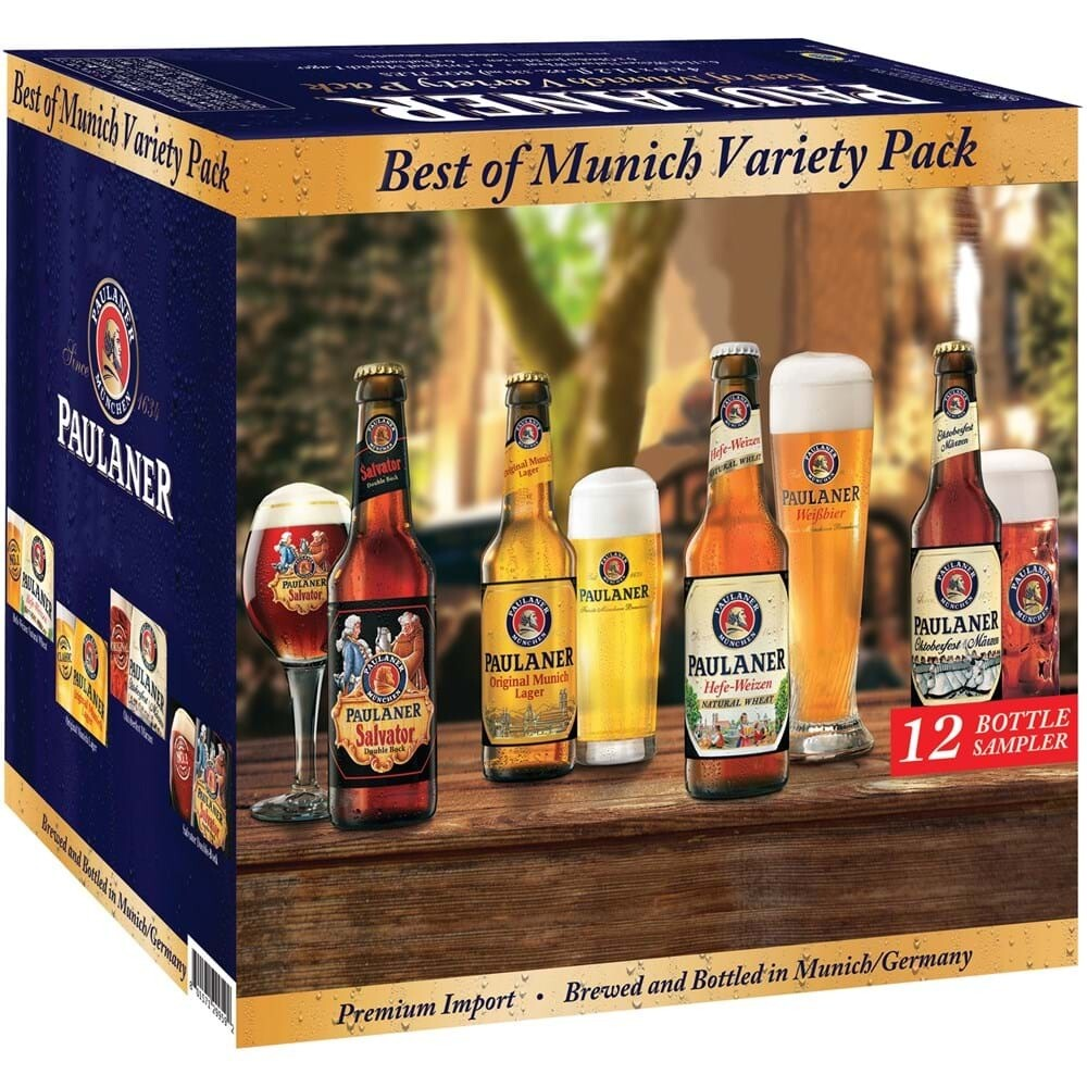 Paulaner Best of Munich Variety 12 Pack