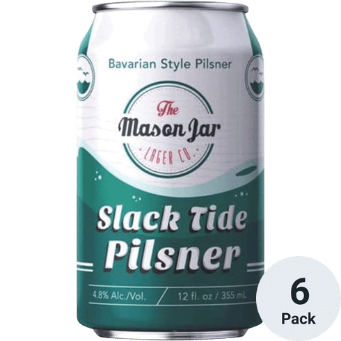 Mason Jar Slack Tide Pilsner