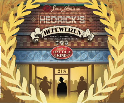 Four Saints Hedrick's Hefeweizen 4pk