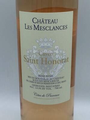 Chateau Les Mesclances Cuvee Saint Honorat 2020 Côtes de Provence Rosé