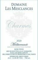 """Chateau les Mesclances """"Charmes"""" IGP Méditerranée Rosé 2020"""