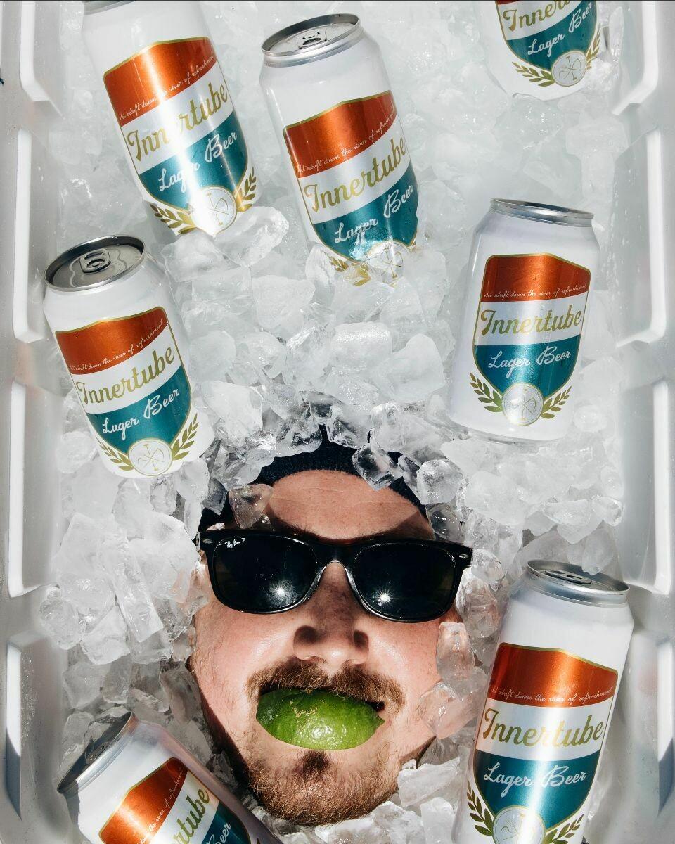 Burial Innertube Lager Beer 6 x 12oz