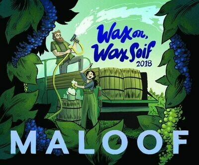 "Ross & Bee Maloof ""Wax on, Wax Soif Blanche"" White Blend 2020"
