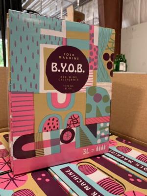 HOBO Folk Machine B.Y.O.B. Red 3L bag in box