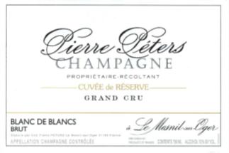 Pierre Peters Cuvee de Reserve Blanc de Blancs Grand Cru Brut NV MAGNUM