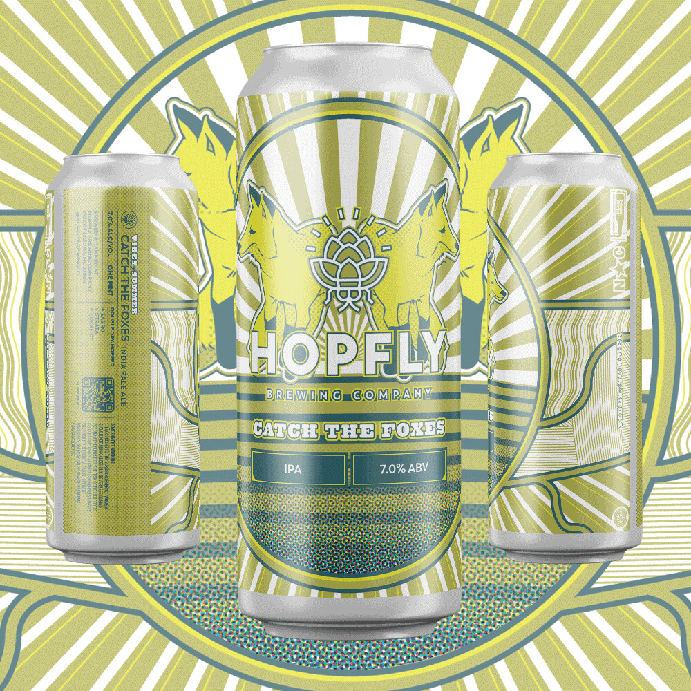 Hopfly Catch the Foxes IPA