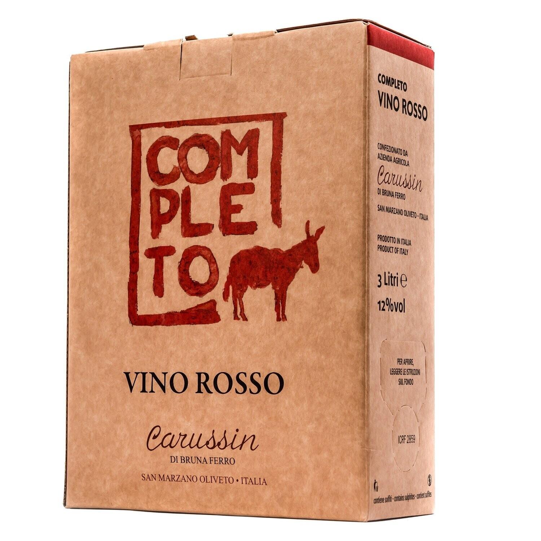 Carussin Completo Vino Rosso 2020 3L Box