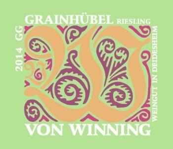 Von Winning Forster Grainhubel Riesling Grosses Gewächs 2019