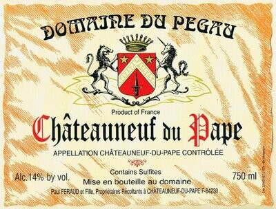 Domaine du Pegau Châteauneuf du Pape Cuvee Réservée 2018