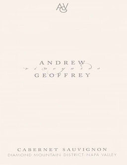 Andrew Geoffrey 2015 Diamond Mountain Cabernet Sauvignon