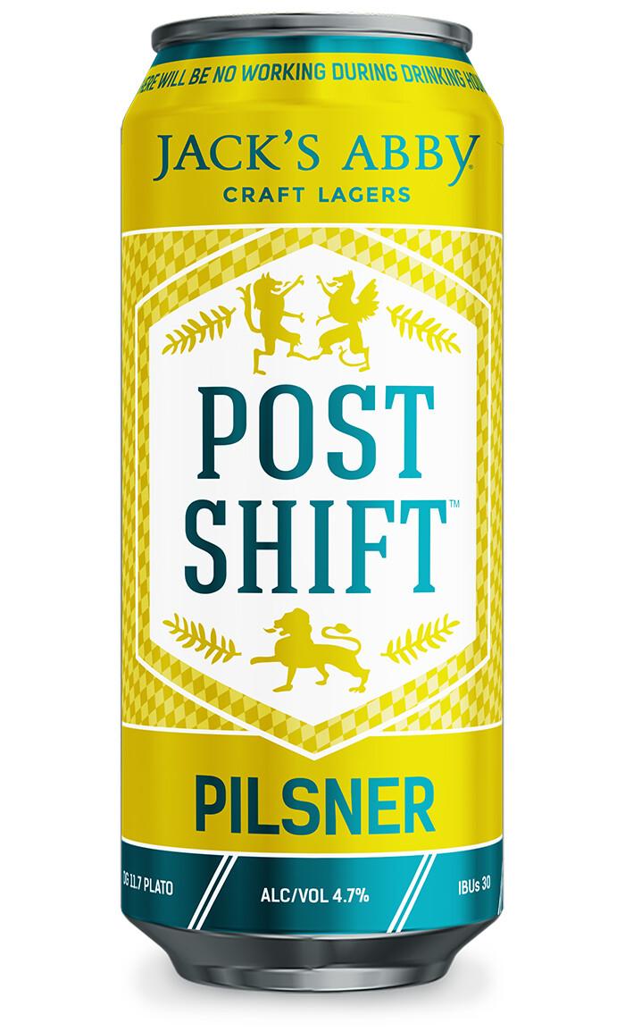 Jack's Abby Post Shift Pilsner 4pk