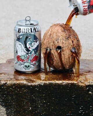 Burial Bolo Coconut Brown 6pk
