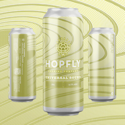 Hopfly Universal Sound IPA 4pk