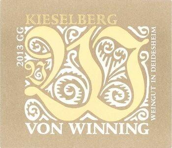 2019 Von Winning Kieselberg Riesling Grosses Gewächs