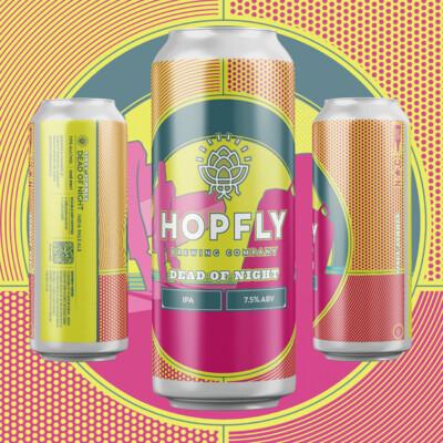Hopfly Dead of Night IPA 4pk