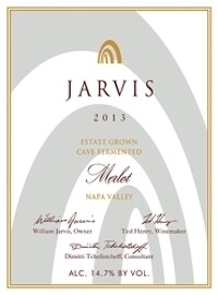 Jarvis 2013 Estate Grown Cave Fermented Merlot