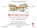 2018 Domaine Henri Prudhon Les Charmeaux Bourgogne Rouge