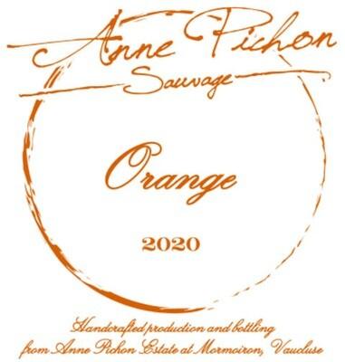 """Anne Pichon """"Sauvage"""" Orange 2020"""