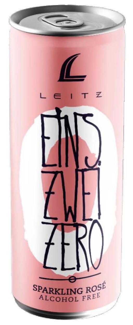 Leitz Eins Zwei Zero Alcohol-Free Sparkling Rose'
