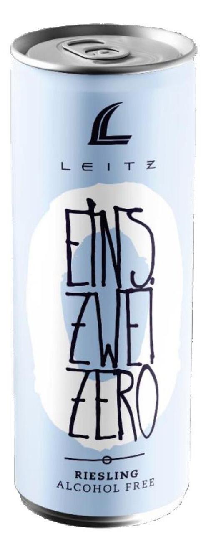 Leitz Eins Zwei Zero Alcohol-Free Sparkling Riesling