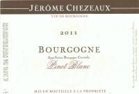 Jerome Chezeaux 2015 Bourgogne Blanc