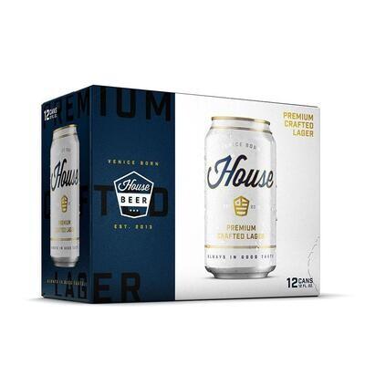 House Beer Premium Lager 12pk