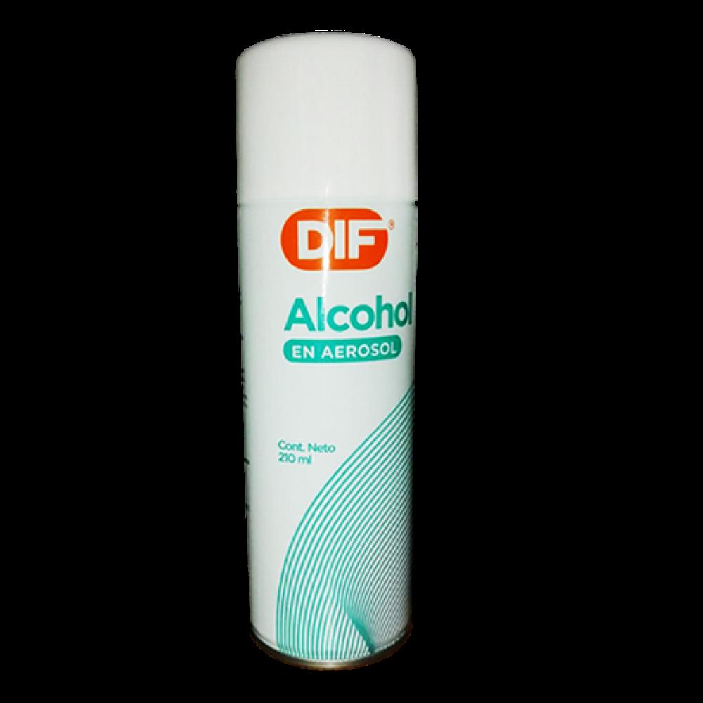 Alcohol DIF en spray 210 ml
