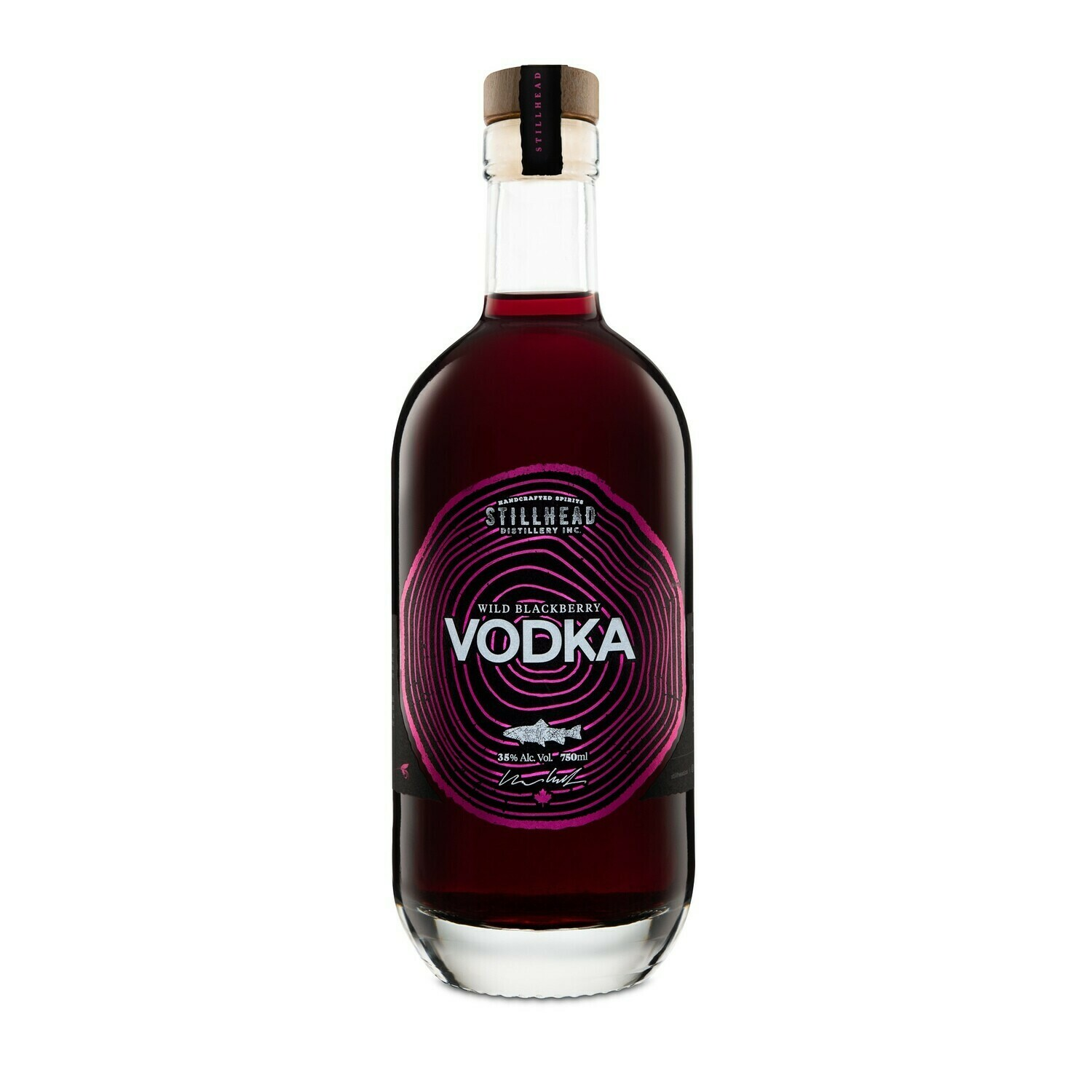 Wild Blackberry Vodka 375mL