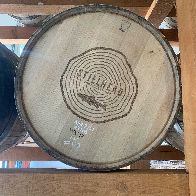 100% Rye Cask #132 - Filled April 7th 2021 - New Oak, heavy toast char 2