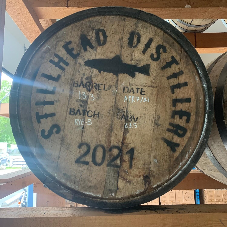 100% Rye Cask #133 - Filled April 7th 2021 - Ex Bourbon (Heaven Hill)