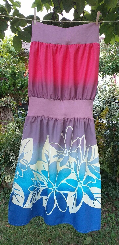 kleid knielang lavender blue ocean gr 36  44