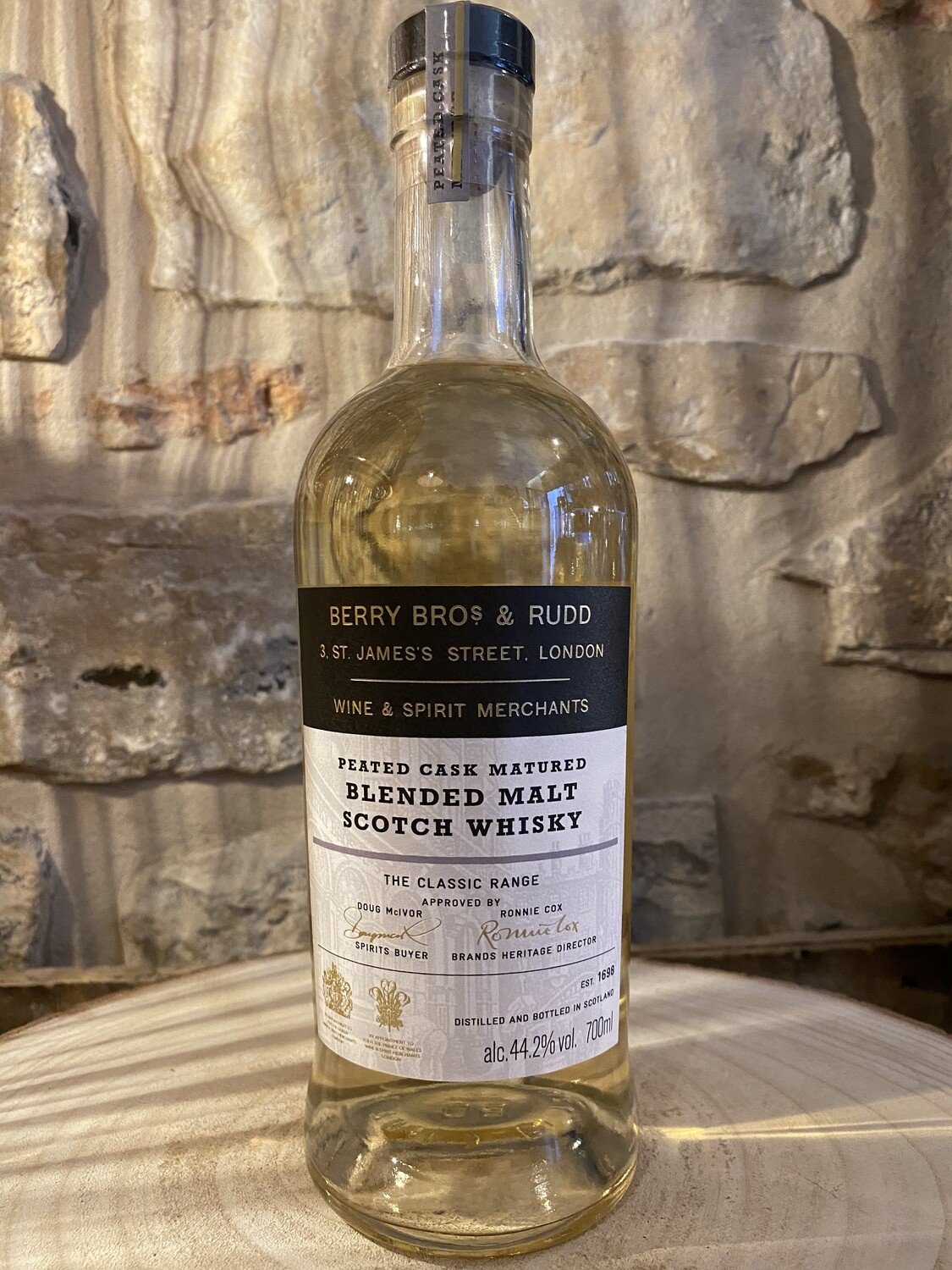 Whisky Berry Bros & Rudd Peated Cask