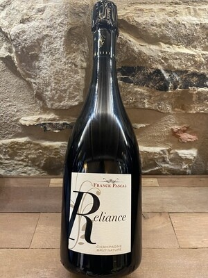 Champagne Reliance, Brut Nature Franck Pascal