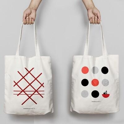 Dues bosses de tela Girona
