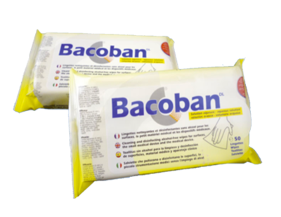 Bacoban Wipes (25 sheets)