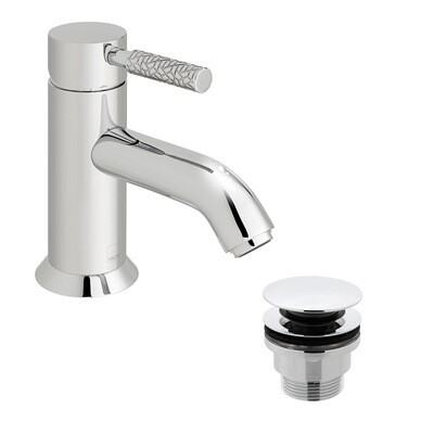 Omika Mono Basin Mixer - With Waste
