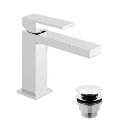 Notion Slim Mono Basin Mixer - With Waste