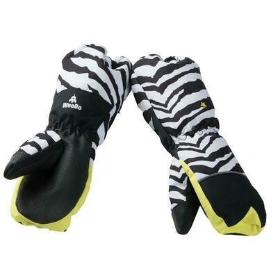 Варежки  Zebra