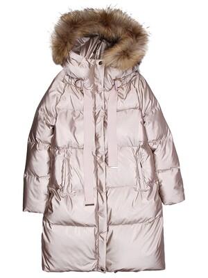 Пальто c лентами